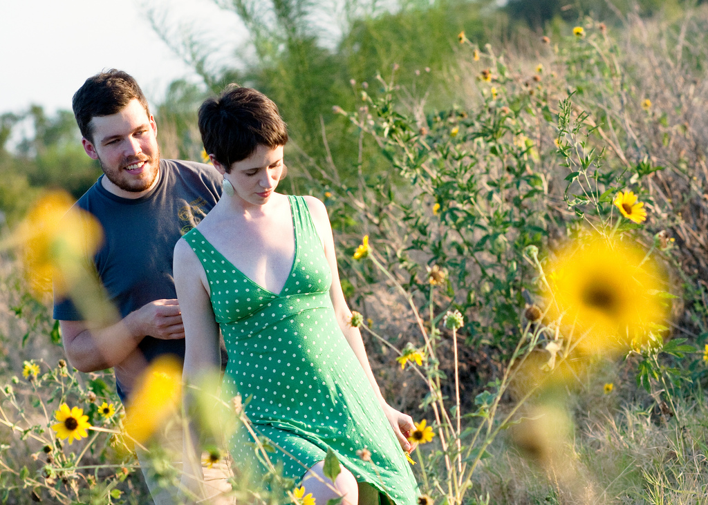 Engagement Session near Mueller in Austin, Texas