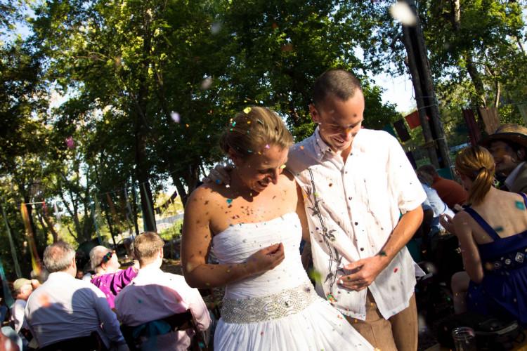 Irene and Bob's Springdale Farm Wedding in Austin, Texas
