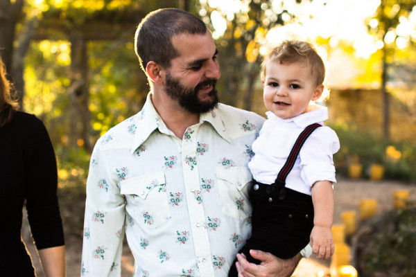 ladybird johnson wildflower center, family, portrait, kid, child, austin