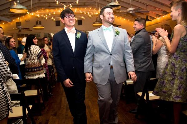 Phillip and Justin's Wedding at the Palm Door in Austin, Texas, gay wedding, lgbt wedding