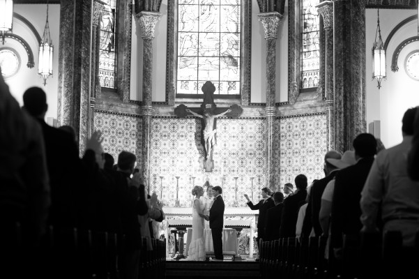Jennah and Gary's Catholic Wedding at St Mary Cathedral in Austin, Texas