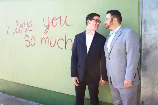 Justin and Phillip's SoCo Engagement in Austin, Texas