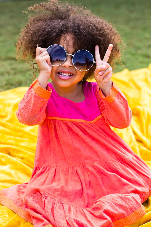 Hippie Child Portrait in Austin, Texas