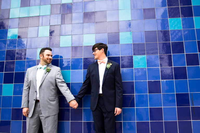 Austin Wedding Photographer | Phillip and Justin's Wedding | Palm Door | Preview