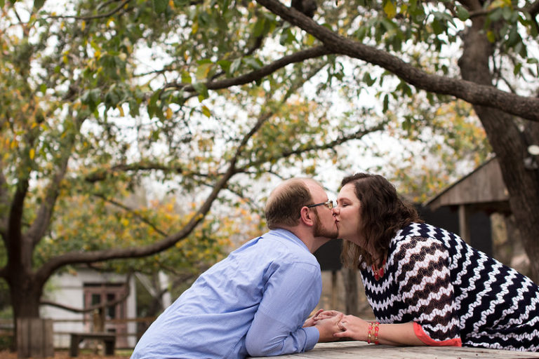 Katie and Jacob's Engagement Session | Gruene, Texas